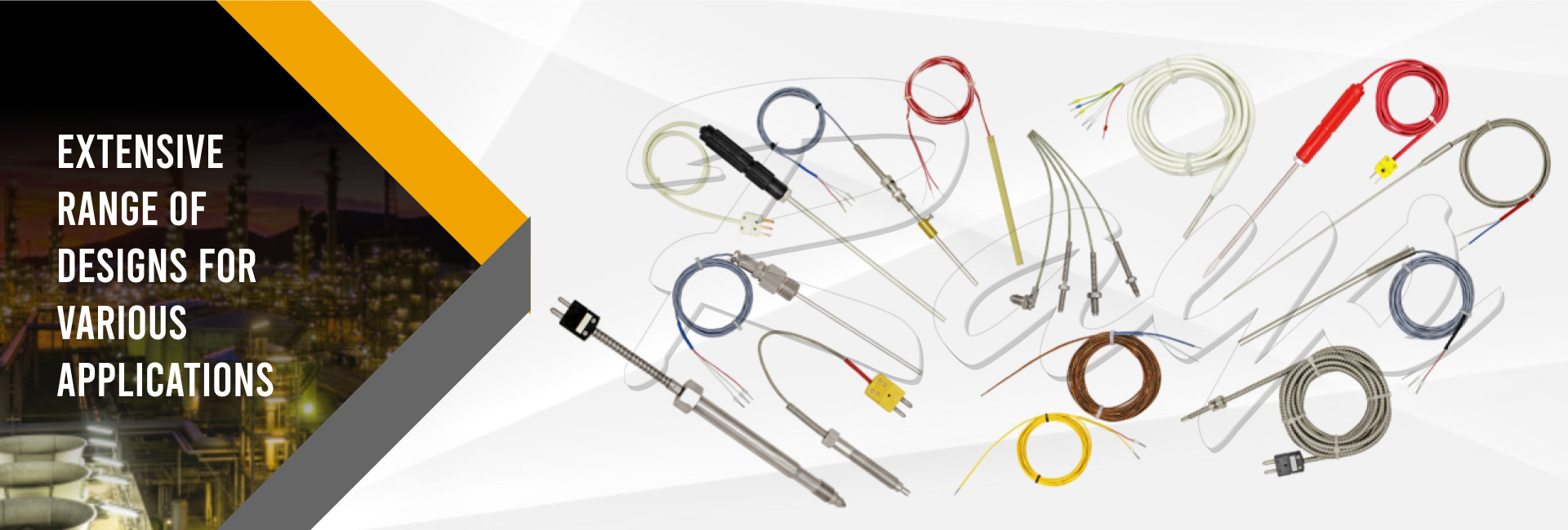 Extensive Range of Designs For Various Application - Temperature Sensor For Cement Industry, Thermocouple For Plastic Industry, Temperature Sensors for Packaging Machine