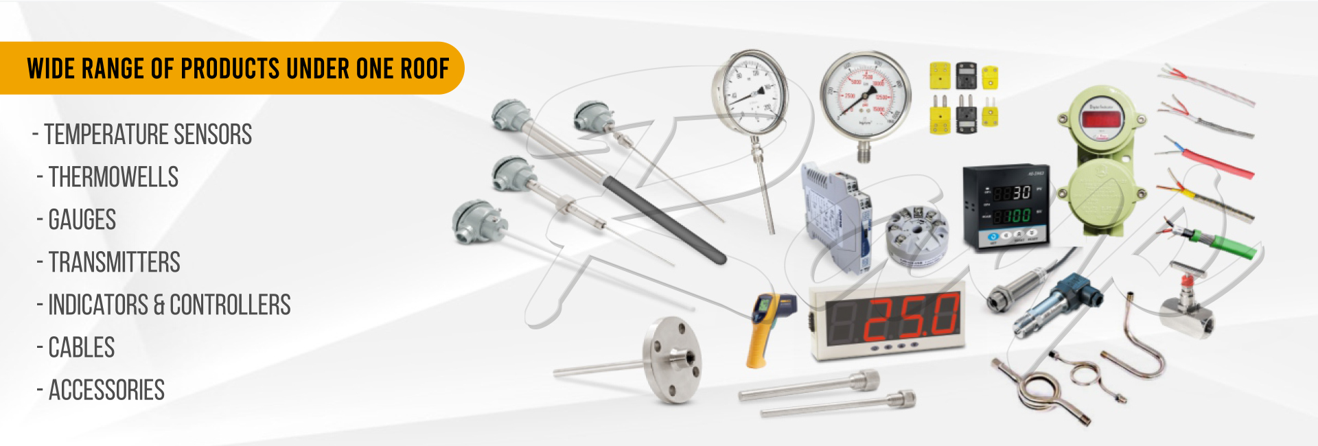 Temperature Sensor, Thermowell, Gauges, Transmitters, Indicator & Controllers, Cables, Accessories Manufacturer, Supplier and Exporter in Nigeria, South Africa, Egypt, Algeria, Morocco, Angola, Sudan, Kenya, Ethiopia, Tanzania, Tunisia